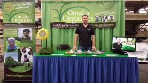Omaha Organics Trade show booth